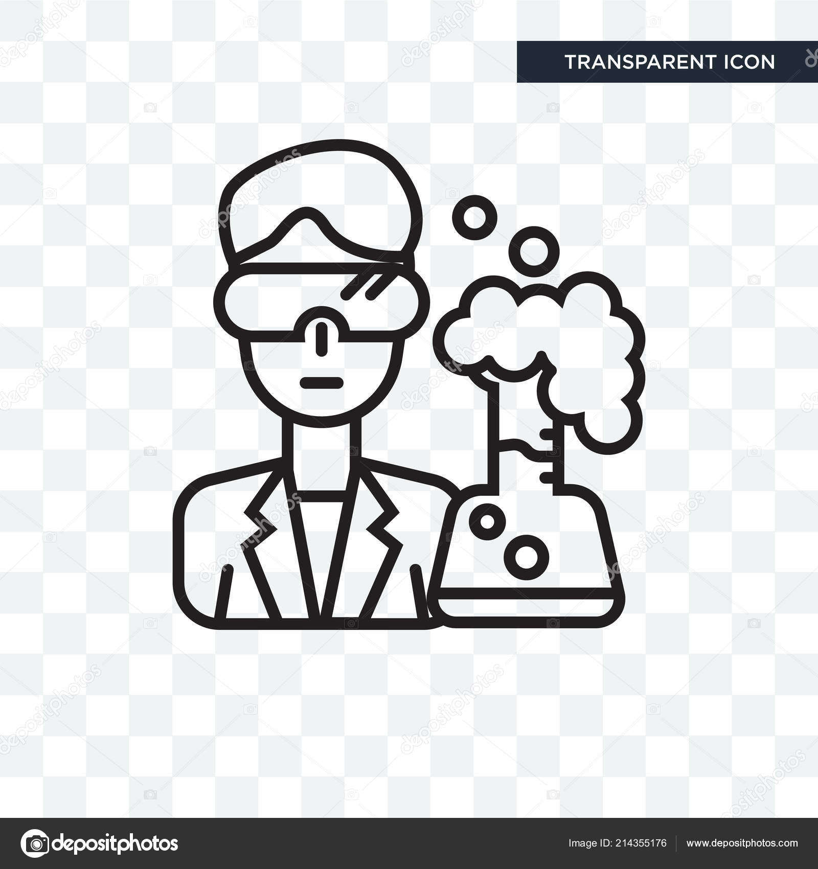 scientist vector icon isolated on transparent background scient stock vector c vectorgalaxy 214355176 https depositphotos com 214355176 stock illustration scientist vector icon isolated on html