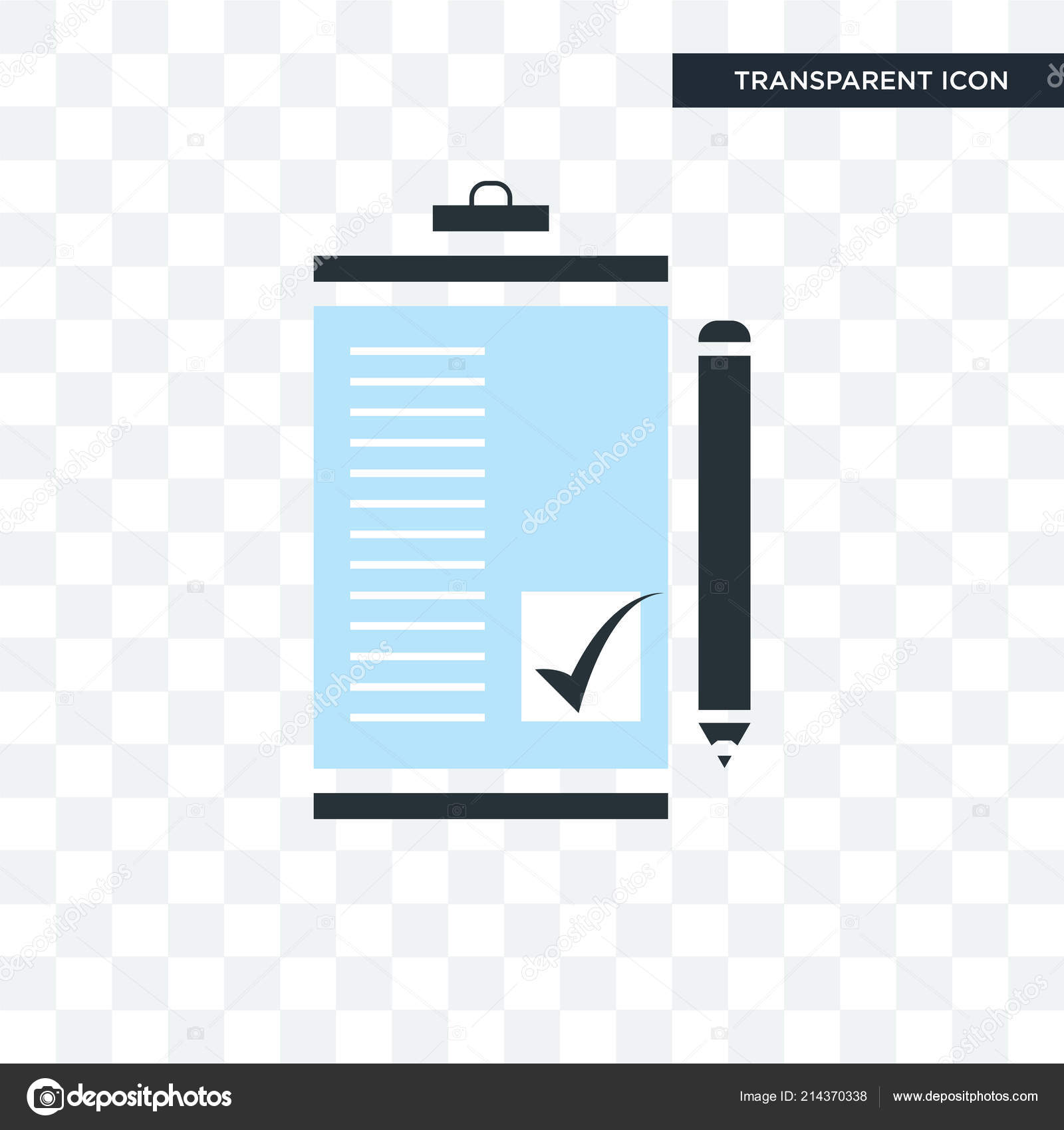 order form background design  Order form vector icon isolated on transparent background ...