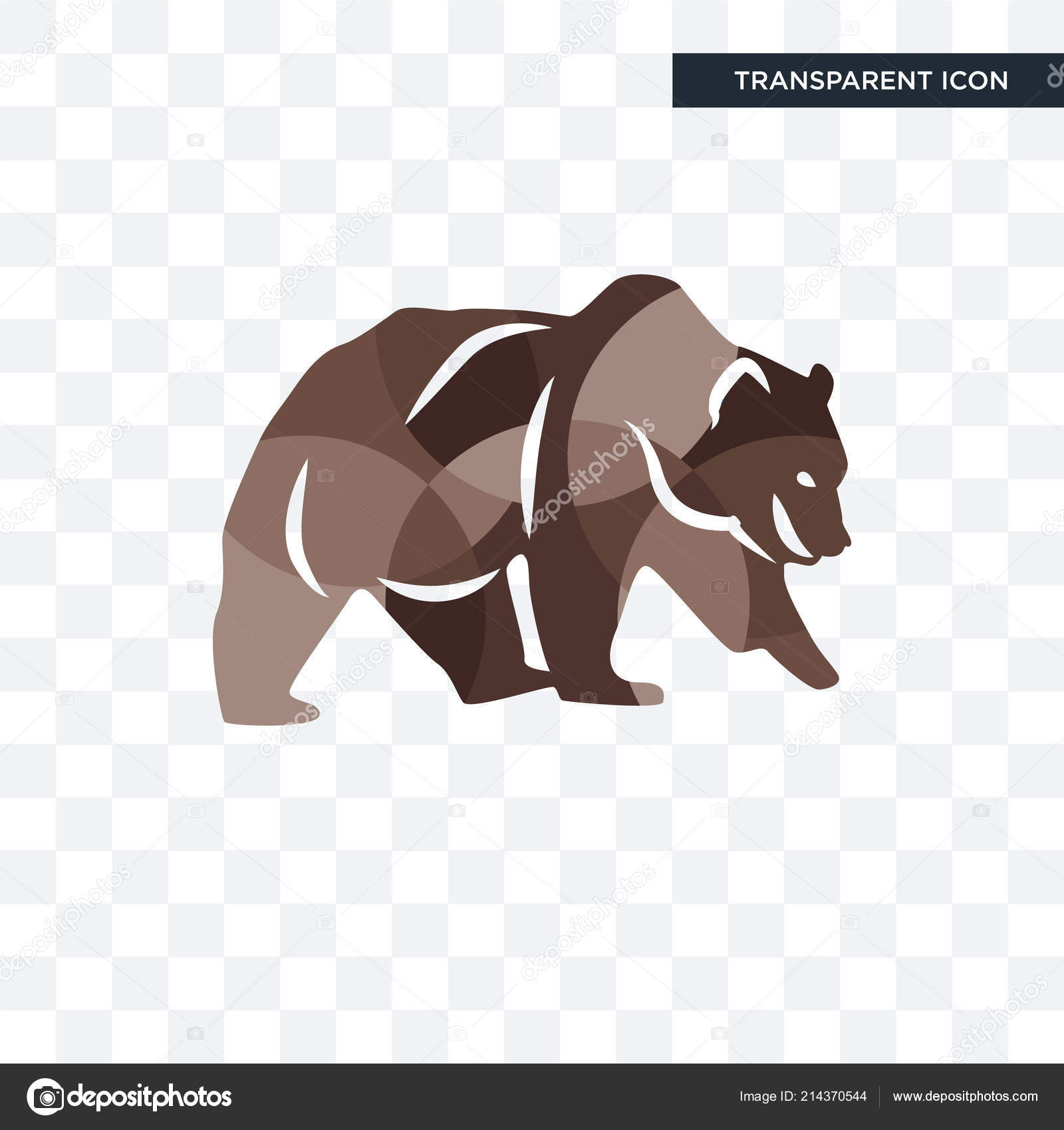 grizzly bear vector icon isolated on transparent background gri stock vector c vectorgalaxy 214370544 https depositphotos com 214370544 stock illustration grizzly bear vector icon isolated html