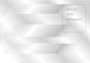 Light halftone background for web layout. White and grey half tone vector pattern with dots and gradient stripes