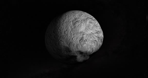 Larissa, belső Hold-Neptunusz bolygó is ismert, mint a Neptune Vii, gyrating hurok