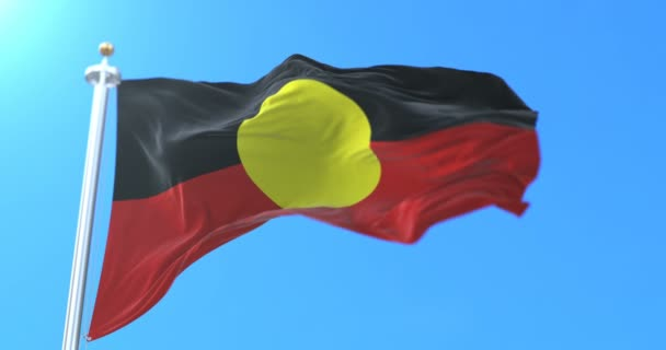 Ausztrál őslakosok zászló, Ausztrália. Hurok