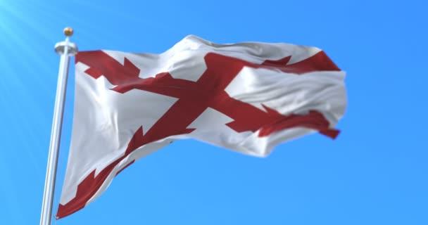 Történelmi zászló a spanyol birodalom a középkorban