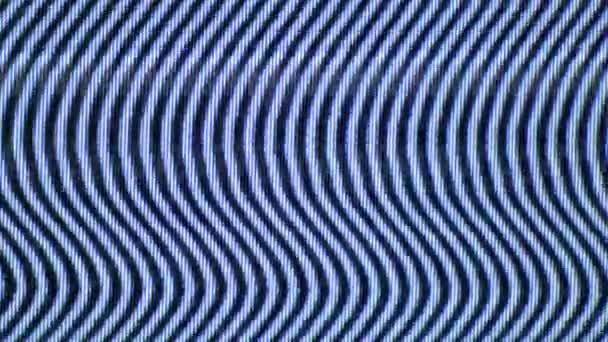 TV Videó zaj villog egy régi analóg televízió