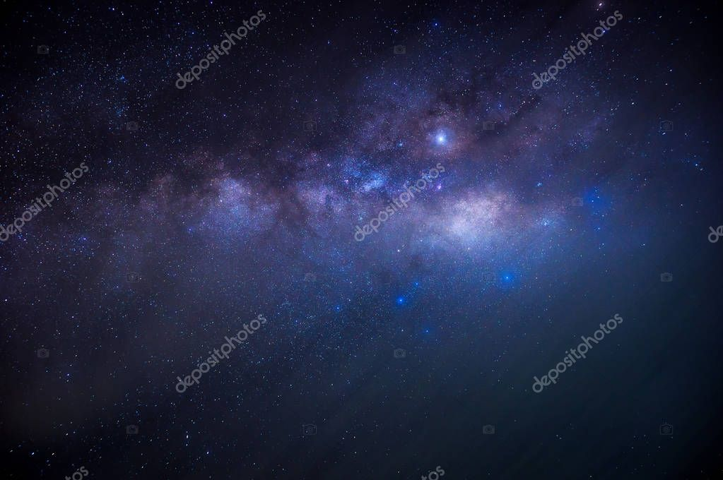 Detail from the milky way behind the cloud, long speed exposure.