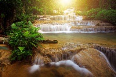 Mae Kae Waterfall is Unseen waterfall in Ngao Lampang of Thailand