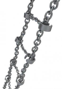 Shackles Metal Chain Ladder