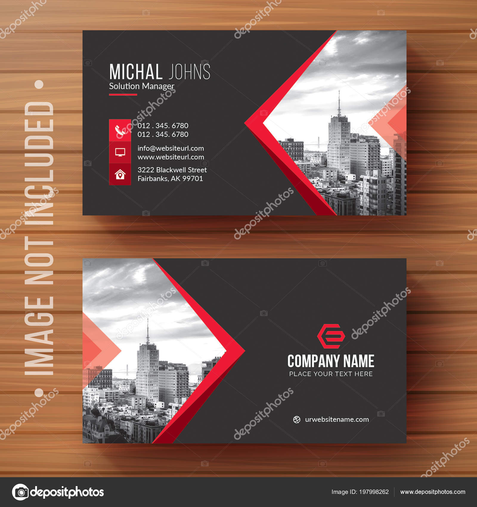Vector Design Modern Creative Clean Business Card Template