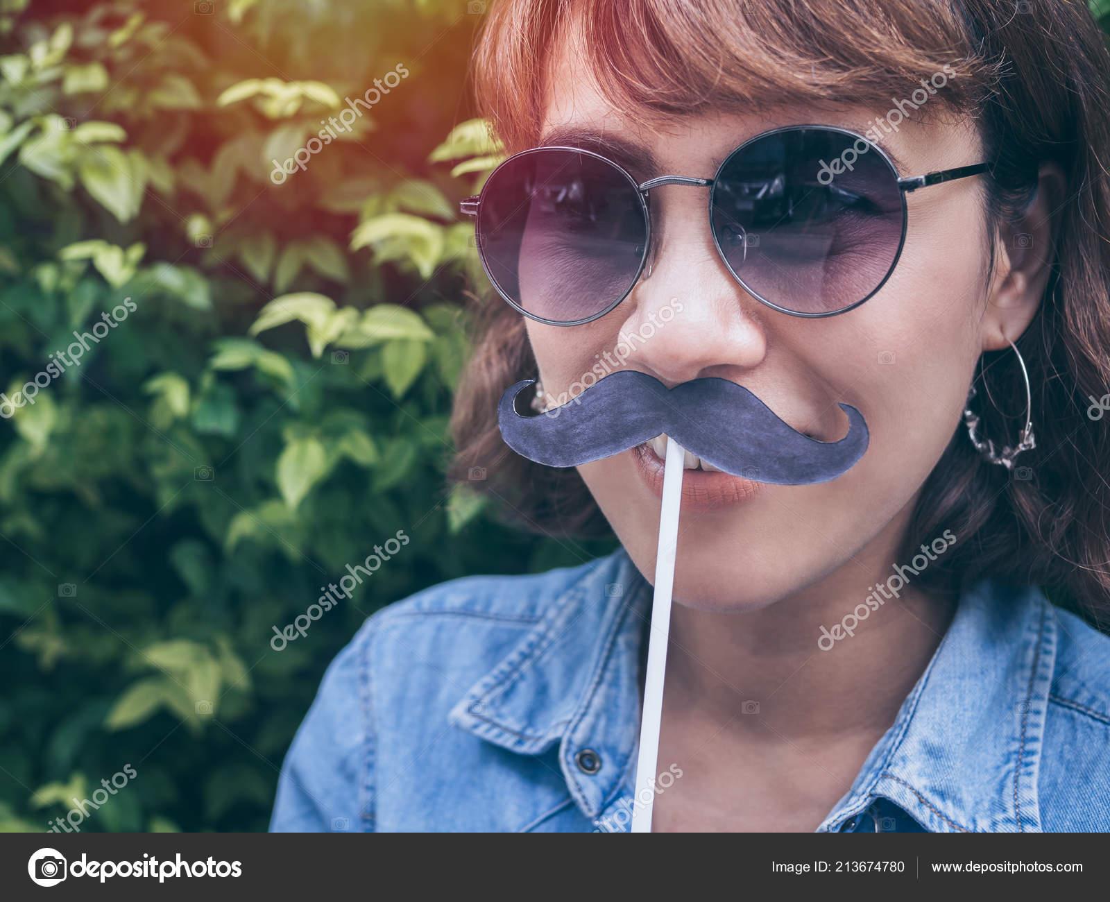 Asian women facial hair