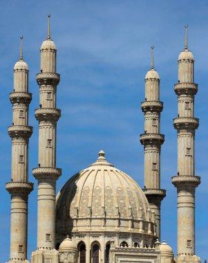 Heydar Mosque in Baku, Azerbaijan