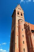 Fotografie Gotische Wiederbelebung Herz-Jesu-Kirche in Gorowo Ilaweckie, Polen