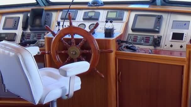 kabina velitele lodi