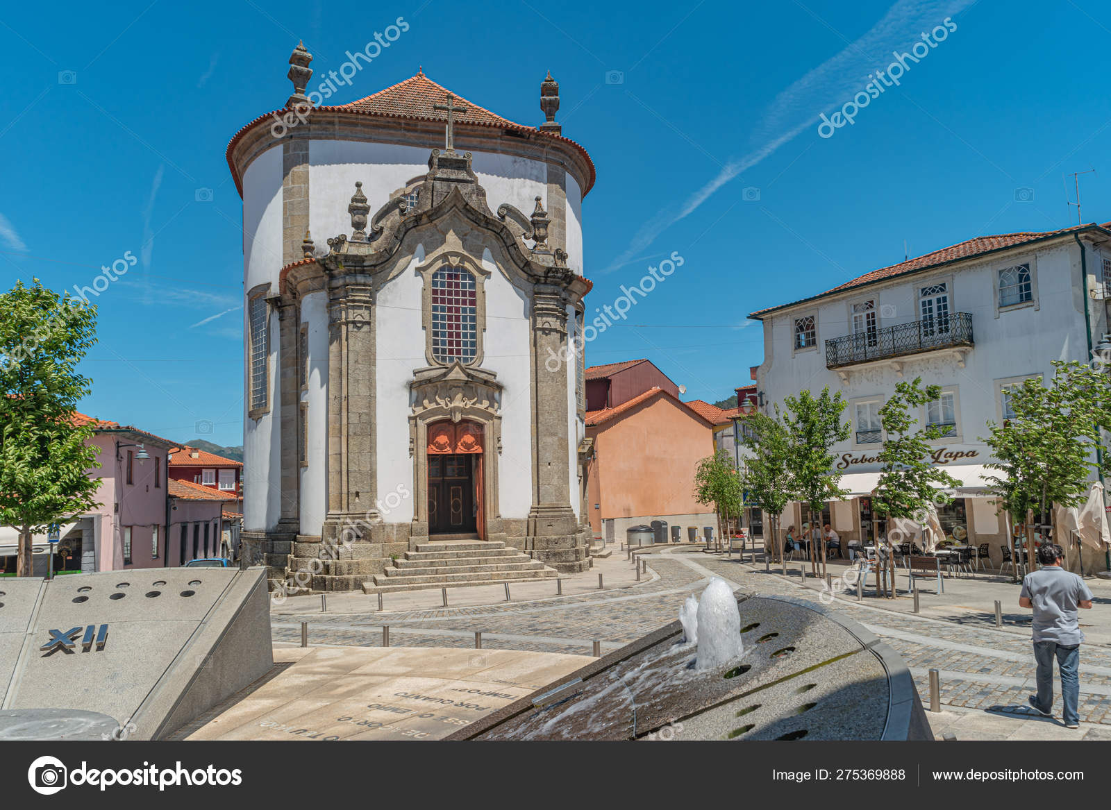 Empresas Em Arcos De Valdevez arcos de valdevez, portugal-circa may 2019: vista da igreja