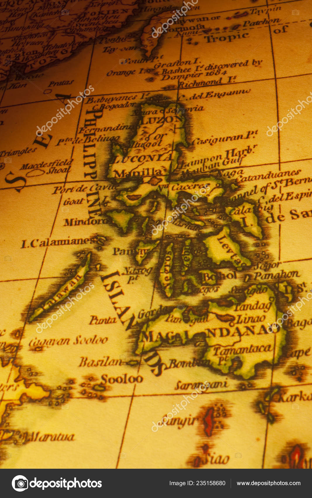 Old map of the philippines | Old Map Philippines Islands ...