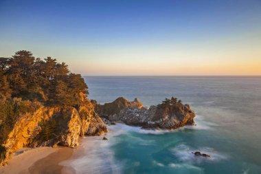 McWay Cove and Falls Calfornia