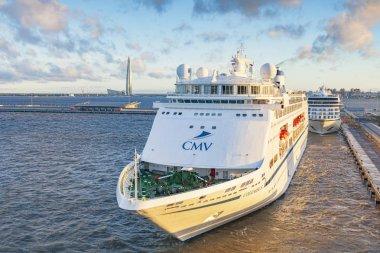 CMV Columbus at St Petersburg Cruise Port, Russia