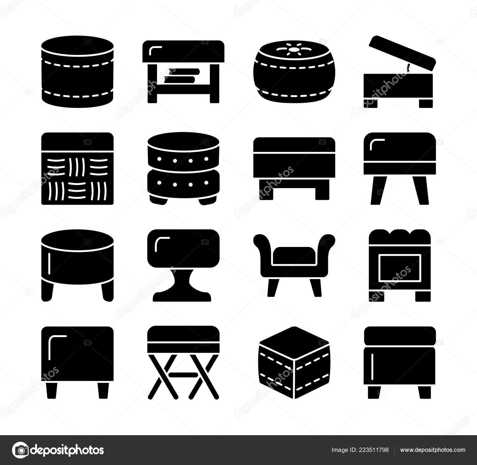 Amazing Pictures Ottoman Chairs Ottomans Poufs Accent Stools Ibusinesslaw Wood Chair Design Ideas Ibusinesslaworg