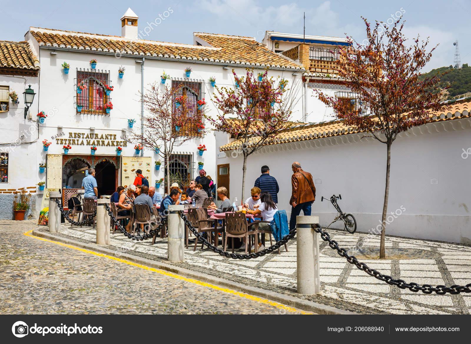 Granada Spain April 2018 Traditional Arabic Architecture Andalusia
