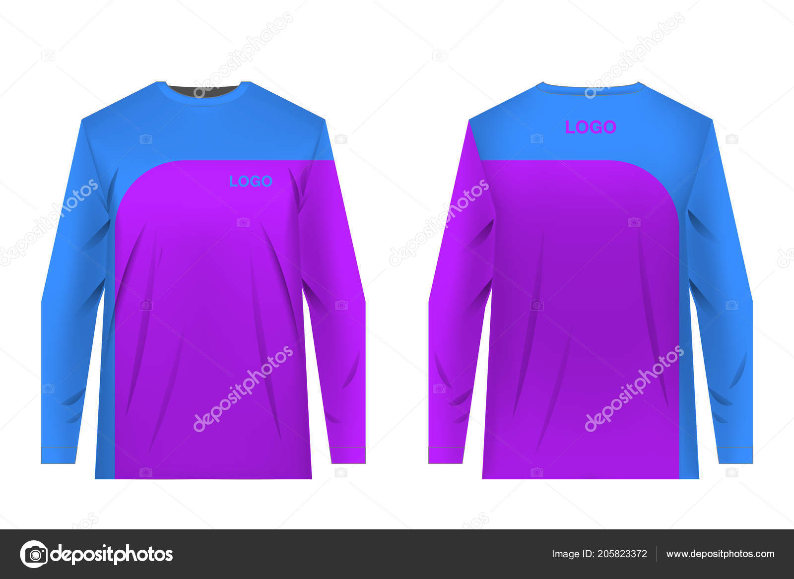 Templates Sportswear Designs Sublimation Printing Uniforms Competitions Team Games Corporate Stock Vector C Ternina 205823372