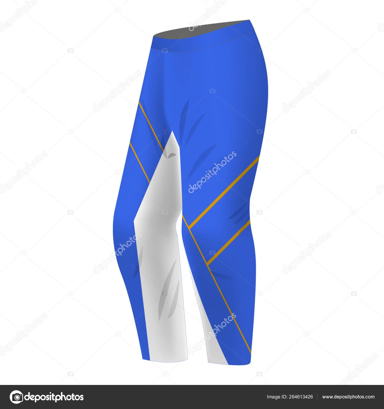 Sport pants template design — Stock Vector © ternina #264613426