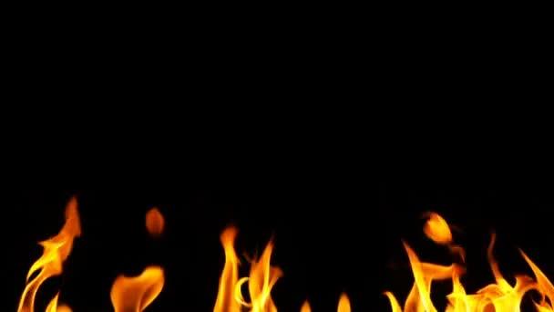 oheň a abstraktní pozadí