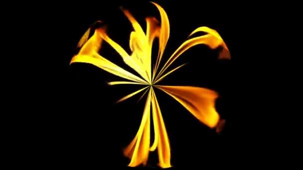 tűz az égő lángja gömb