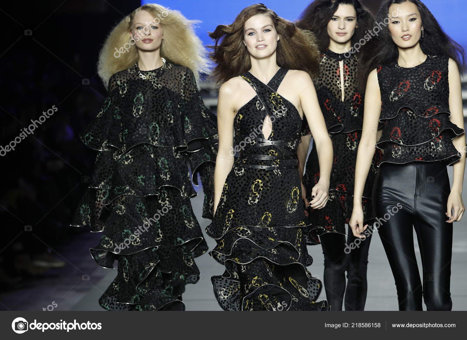 ca1940c389f PARIS, FRANCE - MARCH 03: Models walk the runway during the Sonia Rykiel  show as part of the Paris Fashion Week Womenswear Fall/Winter 2018/2019 on  March 3, ...