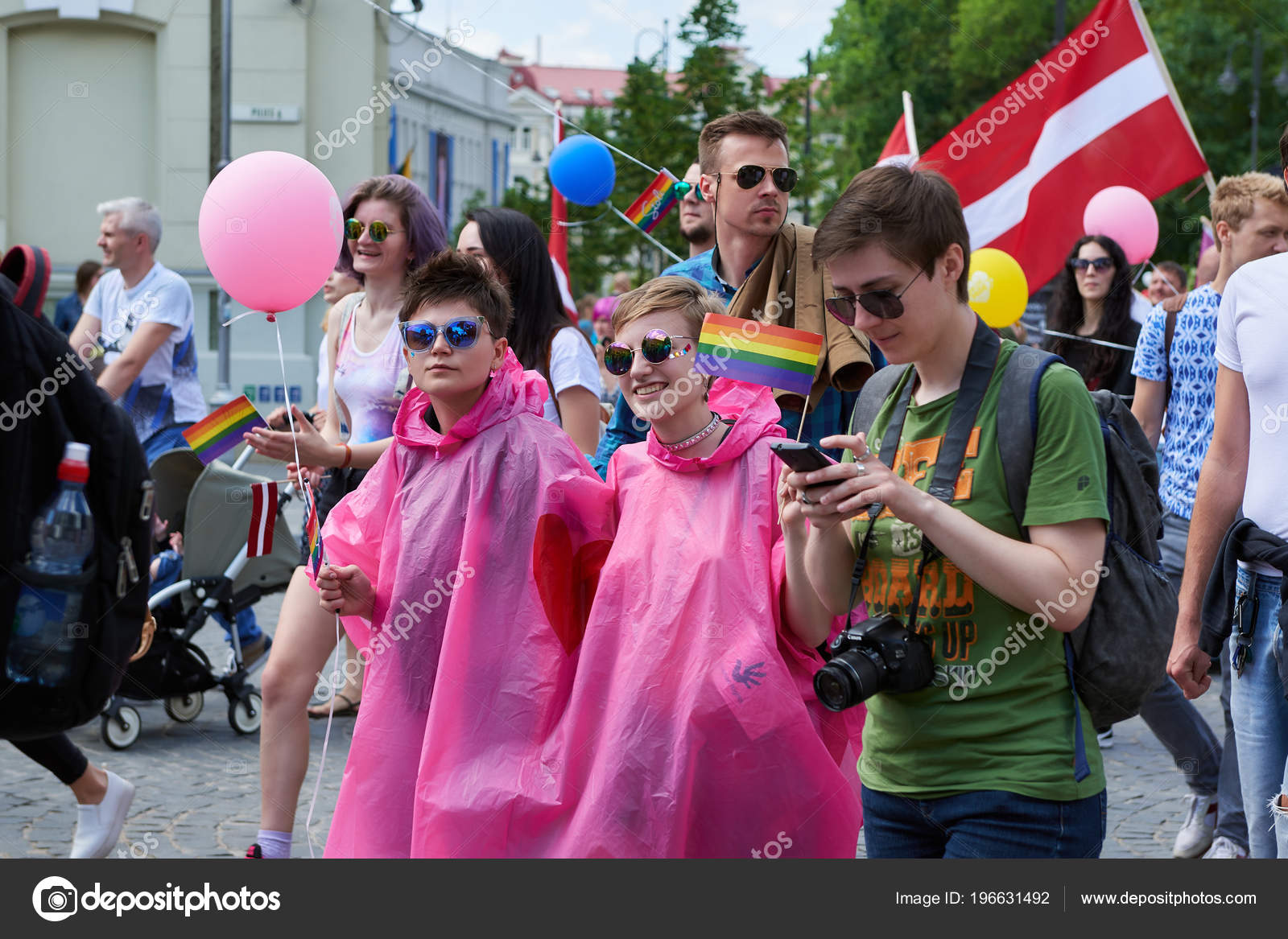 Lesbians gays and bisexual marches