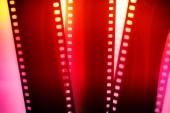 színes fényképészeti film szalag fehér alapon világos illusztráció