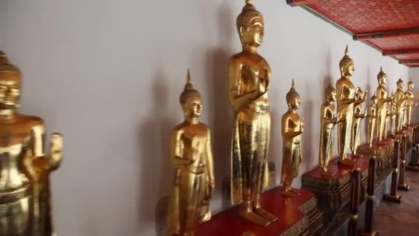 Buddha szobrok Thaiföld Wat Pho templom