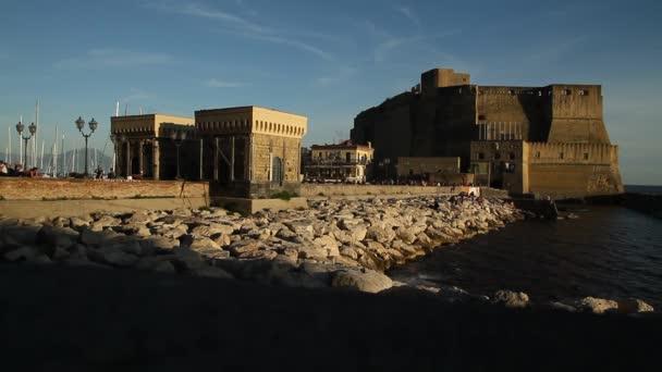 Neapol staré historické centrum, Neapol, Itálie. Streats a budovy Napoli.