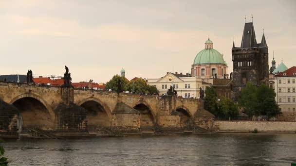 Pohled na prahu, staré a krásné České město.