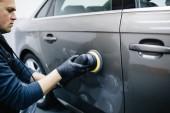 čištění mytí auta v mytí aut