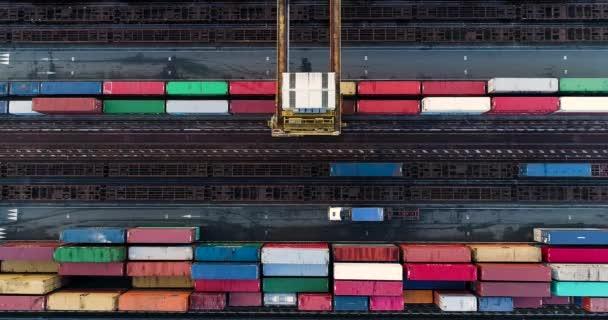 Container aus der Luft