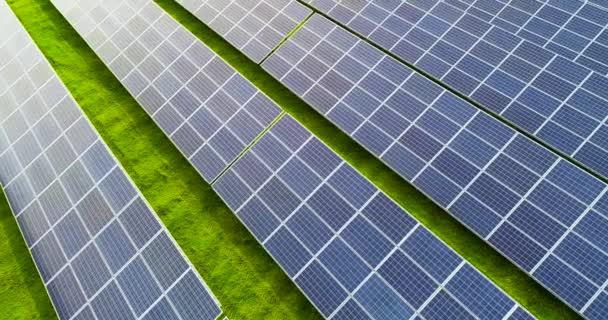Sonnenkollektoren aus der Luft