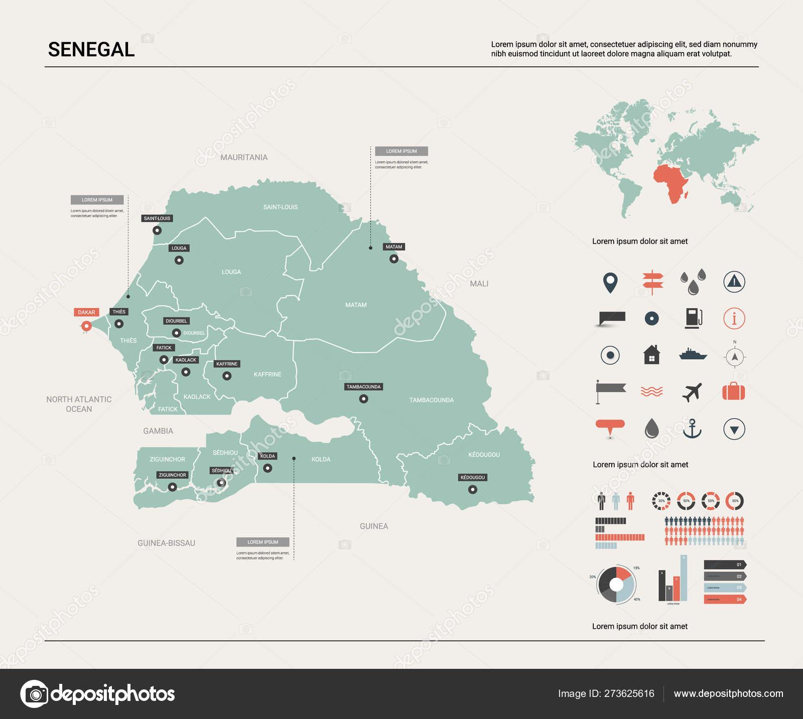 Vector map of Senegal. — Stock Vector © molokowall #273625616 on rwanda map, bangladesh map, seychelles map, morocco map, madagascar map, the gambia map, turkey map, tunisia map, namibia map, sudan map, benin map, algeria map, cameroon map, africa map, lesotho map, eritrea map, mali map, niger map, nigeria map, gabon map, malawi map, zimbabwe map, ethiopia map, ghana map, nepal on map, singapore map, denmark map, uganda map, dakar map, syria map, angola map, political map, guinea map, kenya map, mozambique map, tanzania map,