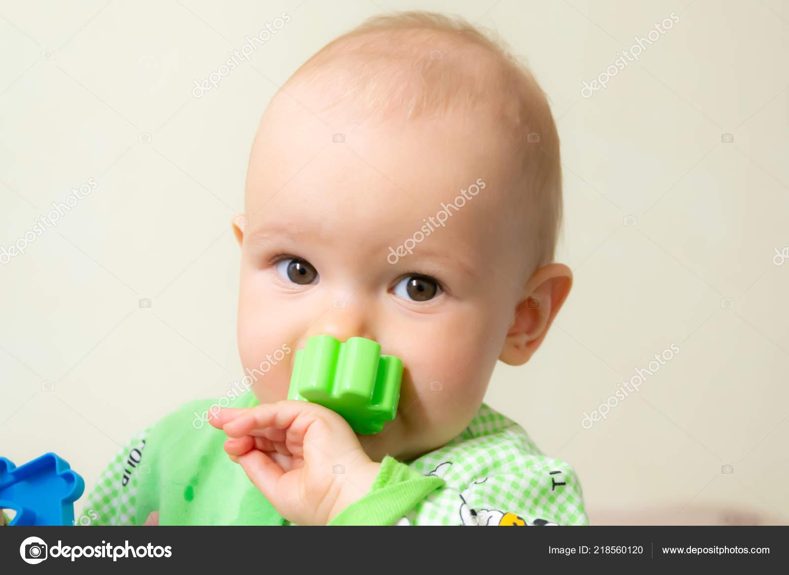 Año Plástico Niño Porque Alegre Dentición Edad Roe Juguete Bebé doQeWCBrx