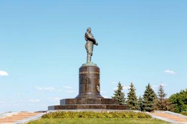 Russia, Nizhny Novgorod - August 22, 2017: Monument to Valery Chkalov