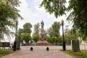 Rusko, Irkutsk - 25 července 2018: Památník Alexandra Iii. Všeruské císař, král a kníže z Finska