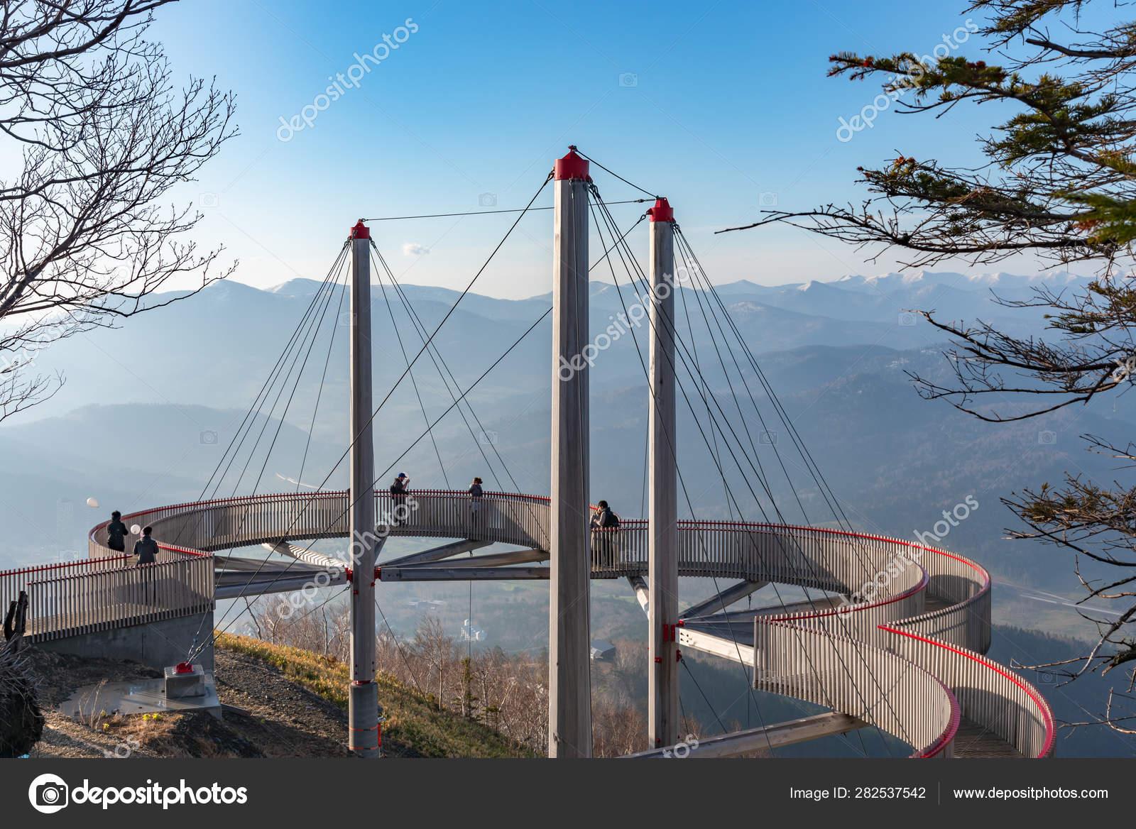Hokkaido Japón 12 De Mayo De 2019 Vista Panorámica