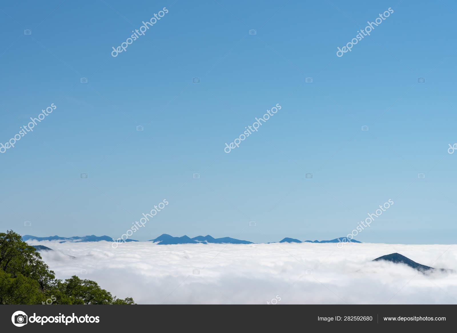 Vista Panorámica Desde Unkai Terrace En Verano Día Soleado