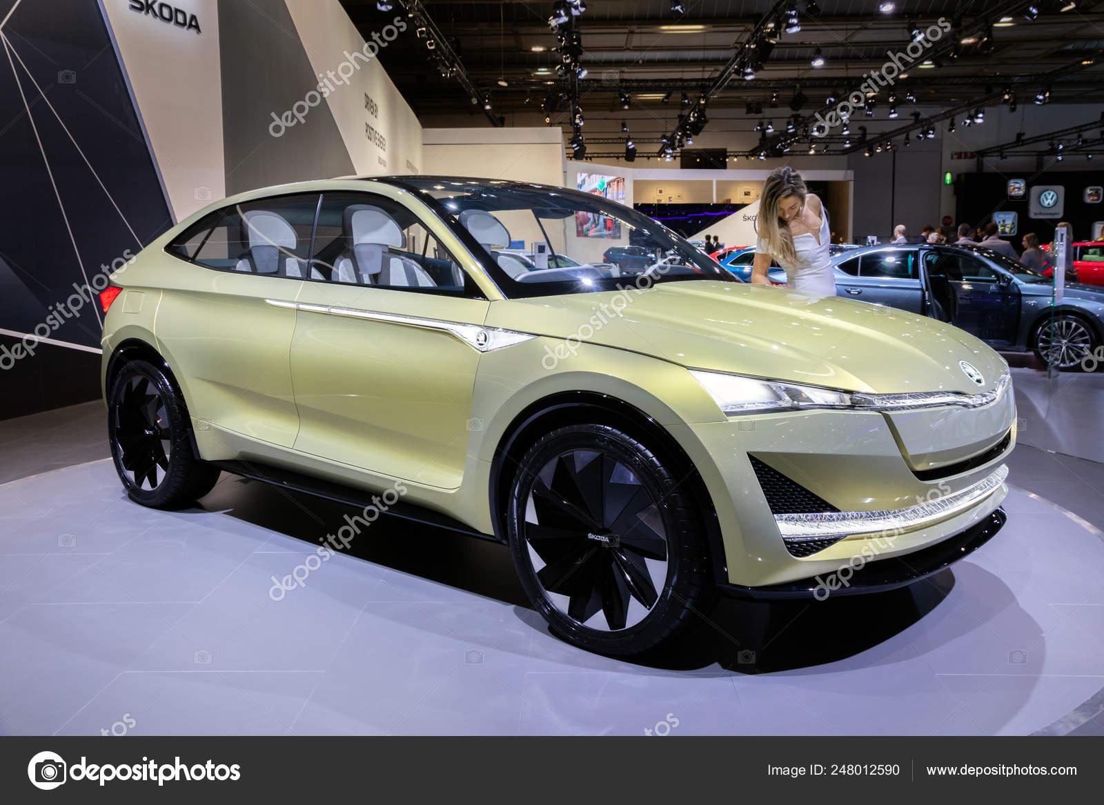 Skoda Vision E Electric Car Stock Editorial Photo C Foto Vdw 248012590