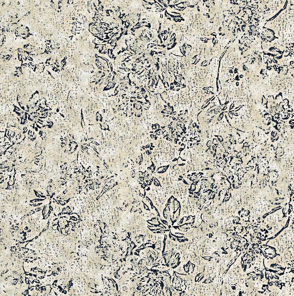 Floral texture repeat modern pattern