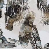 Geometriai akvarell ismételt modern mintázat
