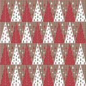 Christmas checks repeat modern pattern