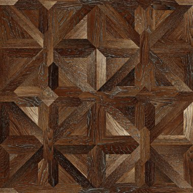 Classic pattern parquet of natural wood seamless texture