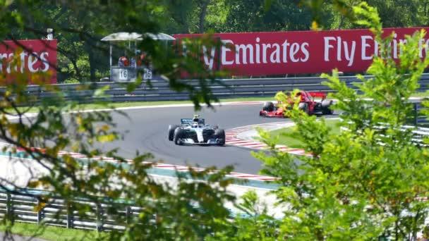 Budapešť; Maďarsko; 07/29/2018. Kvalifikace a závody Formule 1 Maďarská Grand Prix na závodní dráze Hungaroring