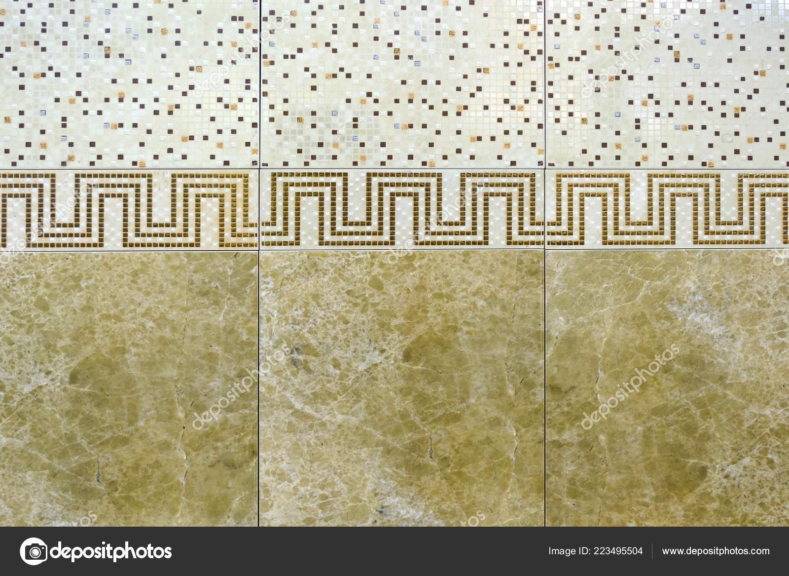 Piastrelle ceramica con ornamenti mosaico piastrelle ceramica