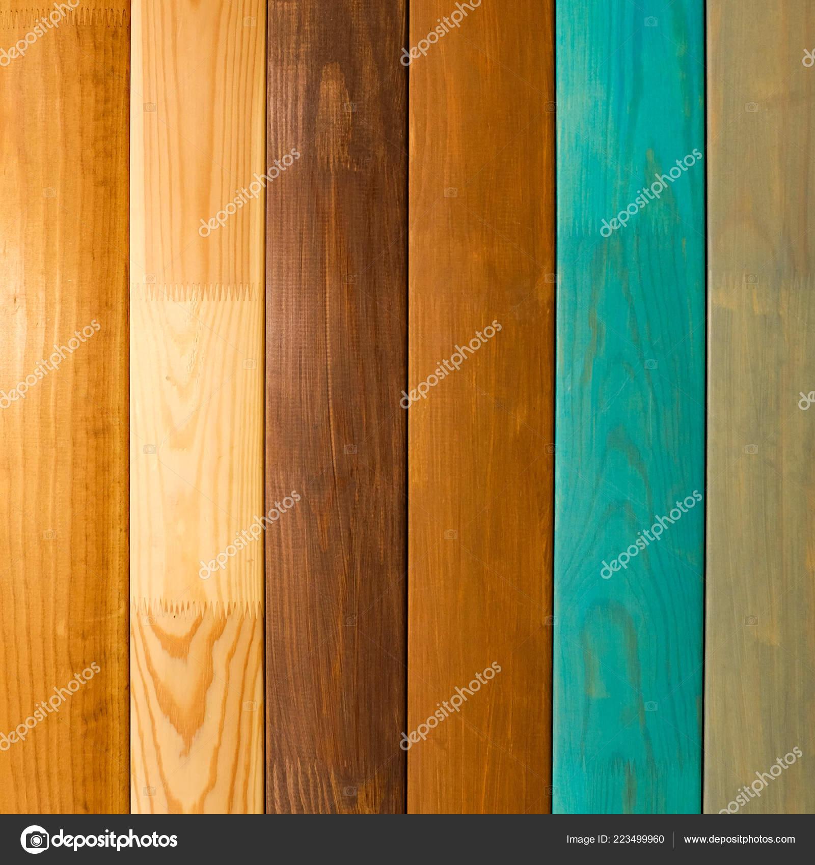 Polierte Board Verschiedene Arten Von Holz White Oak Mooreiche