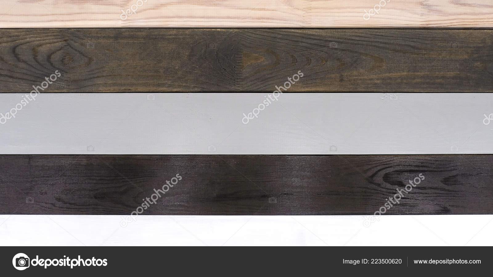 Polished Board Different Types Wood White Oak Bog Oak Light Stock
